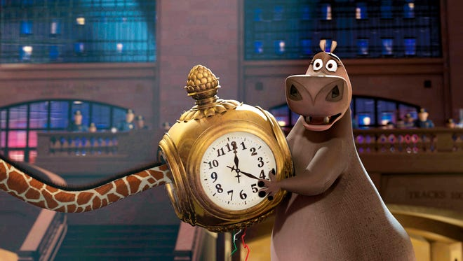 Gloria the Hippo in a scene from the motion picture Madagascar.