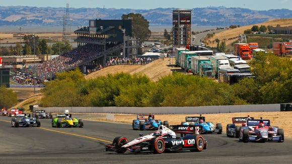 Sonoma Raceway is located in one of the prettiest parts of the U.S., and its afternoon races help IndyCar's East Coast TV ratings.