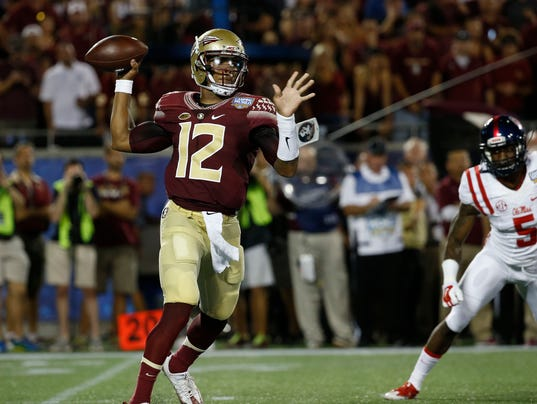 No 4 florida state storms back to beat no 12 ole miss 45 34 4 florida state storms back to beat no 12 ole miss 45 34 voltagebd Choice Image
