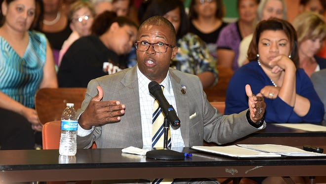 Patrick Jenkins is the school superintendent in St. Landry Parish, where the school board is facing a $1.6 million deficit.