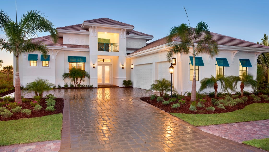 Stock Signature Homes Starts Homes At Naples Reserve