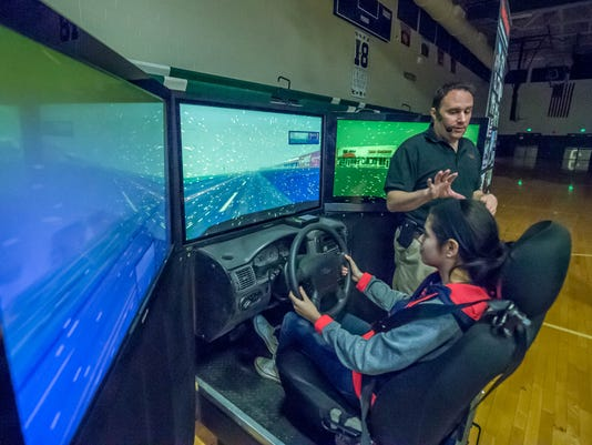 Save a Life driving simulators