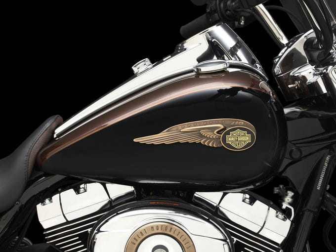 Harley-Davidson's 110th Anniversary celetion in Milwaukee