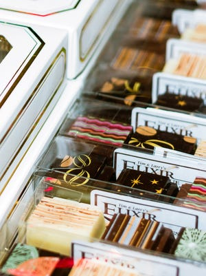 Elixir Boutique Chocolatesis is one of more than 60 featured vendors at the sixth annual Southwest Chocolate and Coffee Fest in Albuquerque on Saturday and Sunday at the New Mexico State Fairgrounds.