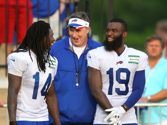The Bills drafted Sammy Watkins No. 4 overall in 2014, and he was a hit at his first Bills camp.
