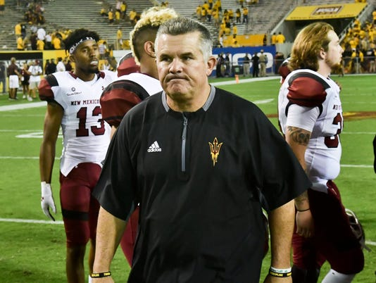 NCAA Football: New Mexico State at Arizona State