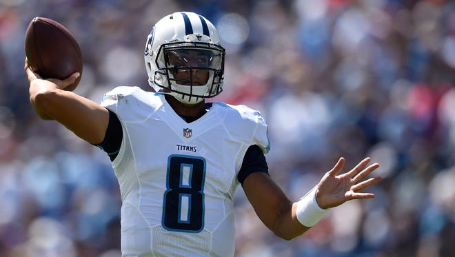 Marcus Mariota threw for 271 yards and two TDs in the Titans opener vs. Minnesota.