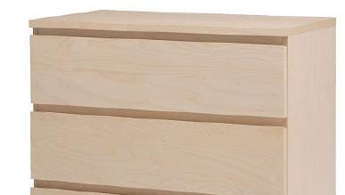 IKEA recalled its MALM 3-drawer dresser June 28 because it can tip over and entrap children.
