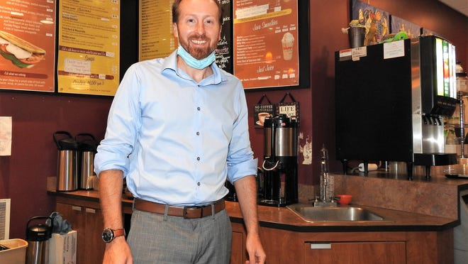 Charlie Carroll is the owner of Café Edesia in Gardner.