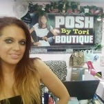Tori Thompson, owner of Posh by Tori, is excited about downtown Farmington's newest promotion, F2F, which debuts Friday.