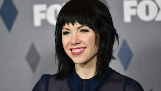 PASADENA, CA - JANUARY 15:  Recording artist Carly Rae Jepsen attends the FOX Winter TCA 2016 All-Star Party at The Langham Huntington Hotel and Spa on January 15, 2016 in Pasadena, California.  (Photo by Alberto E. Rodriguez/Getty Images)