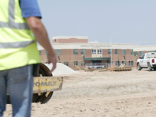 Sheboygan Falls middle school construction