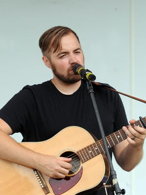 Jason Ropp performs on the Fountain Stage Saturday afternoon during Leilapalooza 2016 music event.