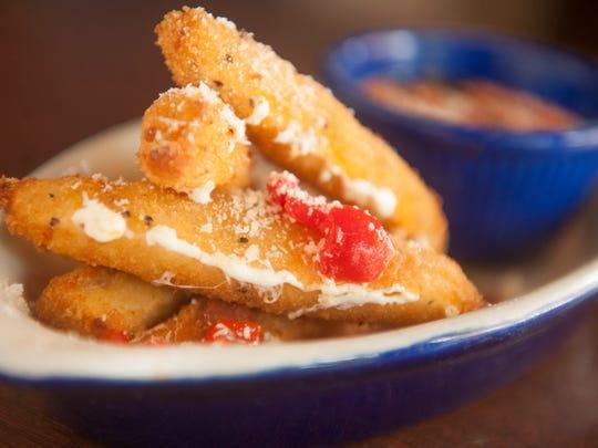 Stick to it: Smoked mozzarella sticks are available some days at Square Pie in Philadelphia.