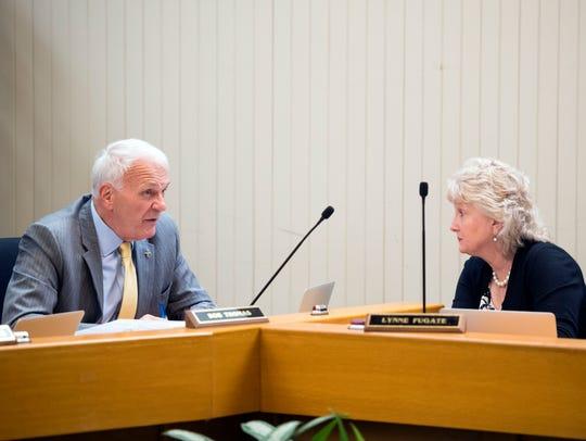 Knox County School superintendent Bob Thomas talks