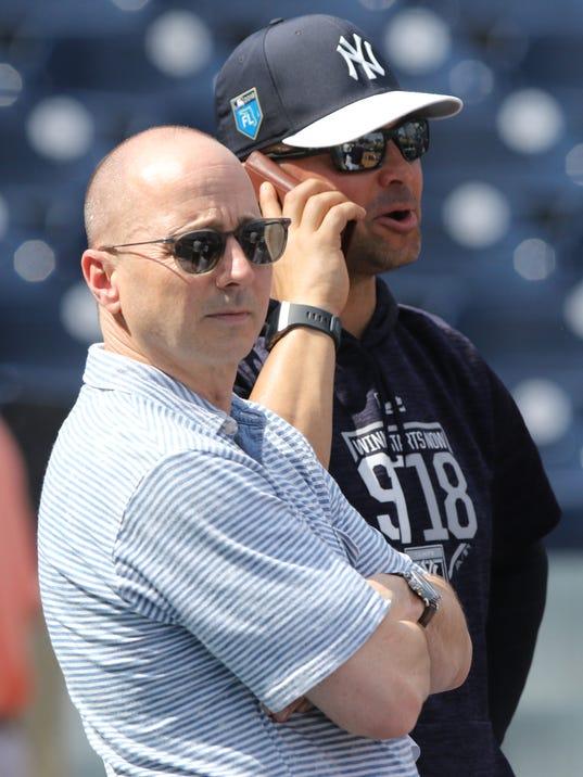 Yankees Spring Training 2018 --  Photo Day
