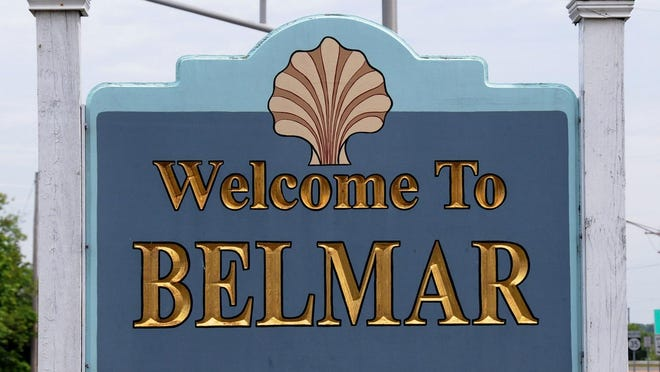 BELMAR WELCOME SIGN, LOCATED ON MEDIAN ON ROUTE 35 NORTH AT 16TH AVENUE.