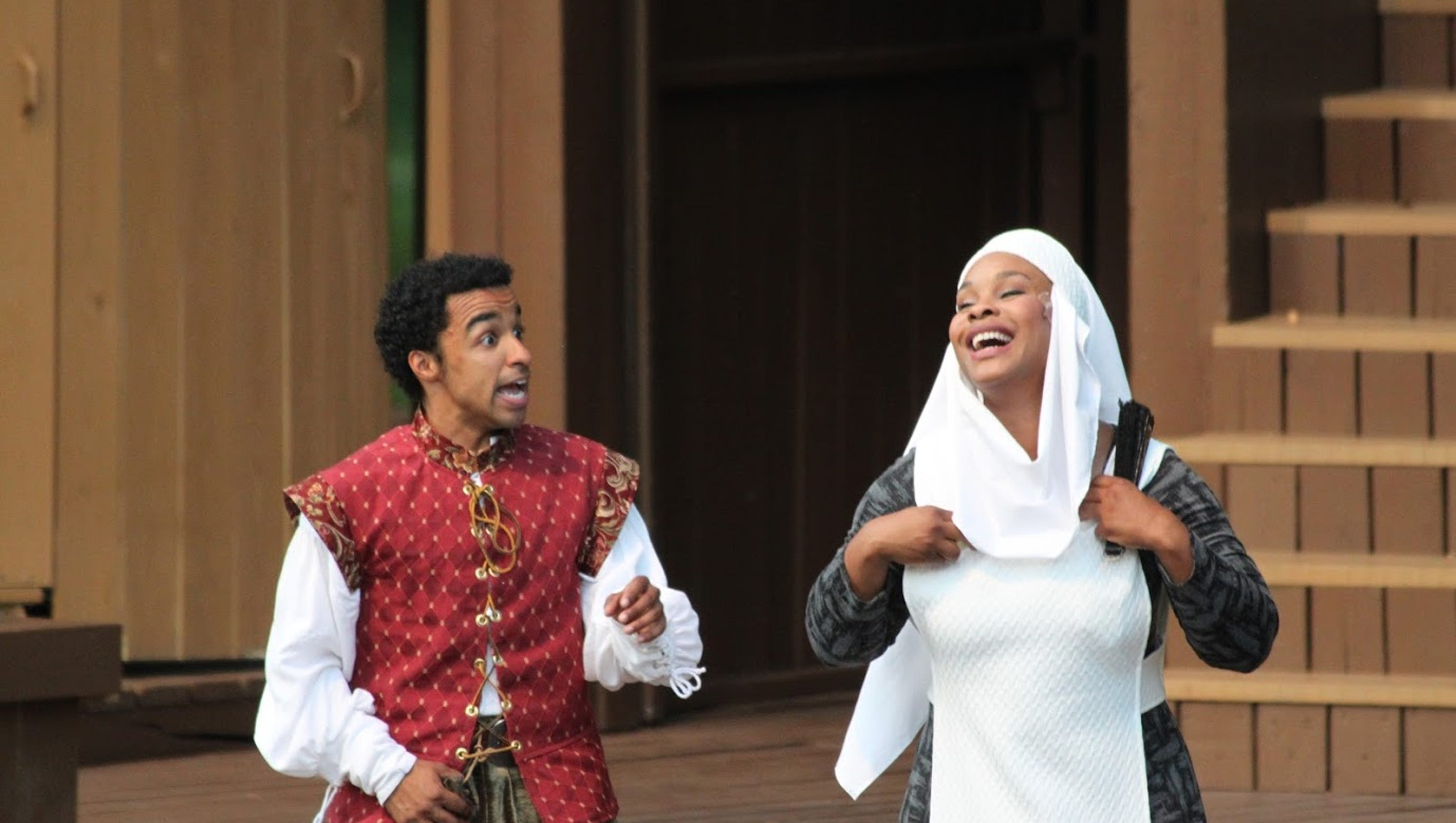 a review of modern takes on romeo and juliet (photo by tony powell courtesy of shakespeare theatre company)  this  contemporary take on romeo & juliet unfolds in what appears to be.