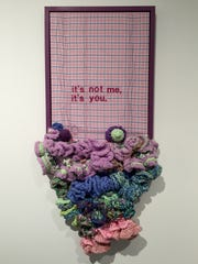 Melissa Maddonni Haims' quilts and crochet works also