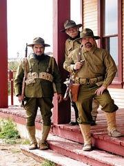 Re-enactors help tell the story of Gen. Pershing's