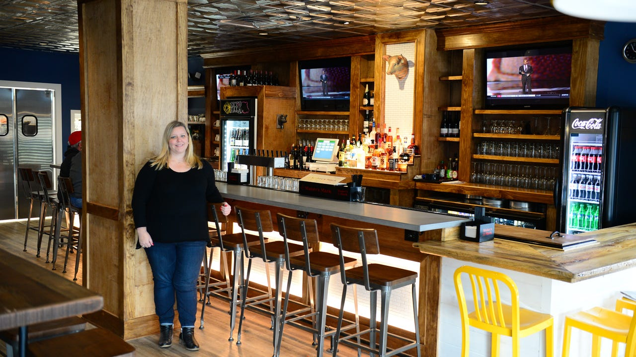 Meet Rebecca Fluharty: the woman whose designed a handful of popular restaurants in Delaware.