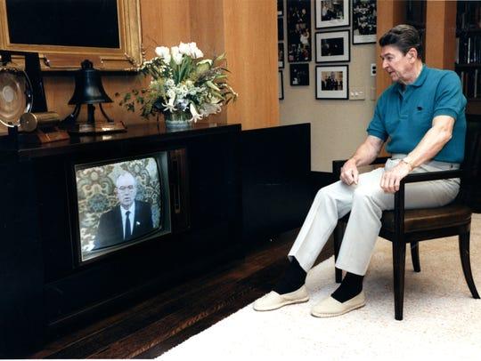 January 1986:  President Ronald Reagan and Soviet Premier