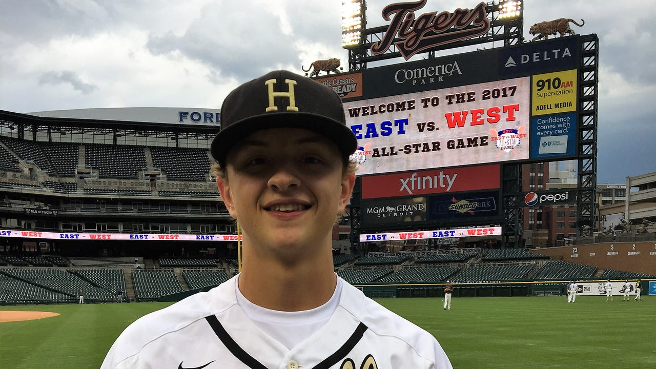 Howell pitcher Sam Weatherly's highlights and comments from the East-West All-Star Baseball Classic at Comerica Park.