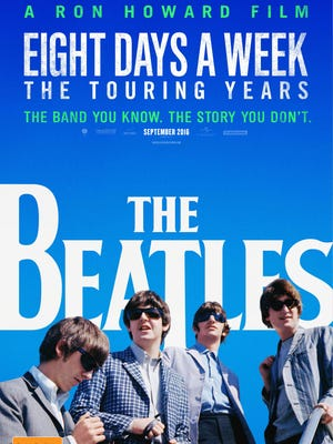 "Director Ron Howard's Beatles documentary, ""Eight Days A Week: The Touring Years,"" will be screened during the Mother of Pearl Film Series at Alamo Drafthouse Cinema on Sept. 15."