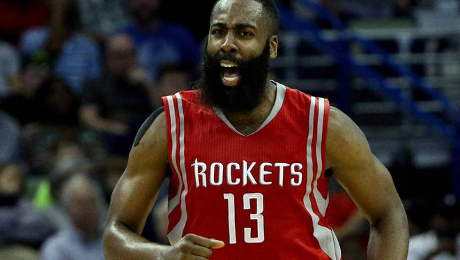 Rockets guard James Harden agreed to a deal with Adidas worth a combined $200 million over 13 years.