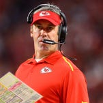 Former Kansas City Chiefs offensive coordinator Doug Pederson was officially named the Eagles' head coach on Monday.