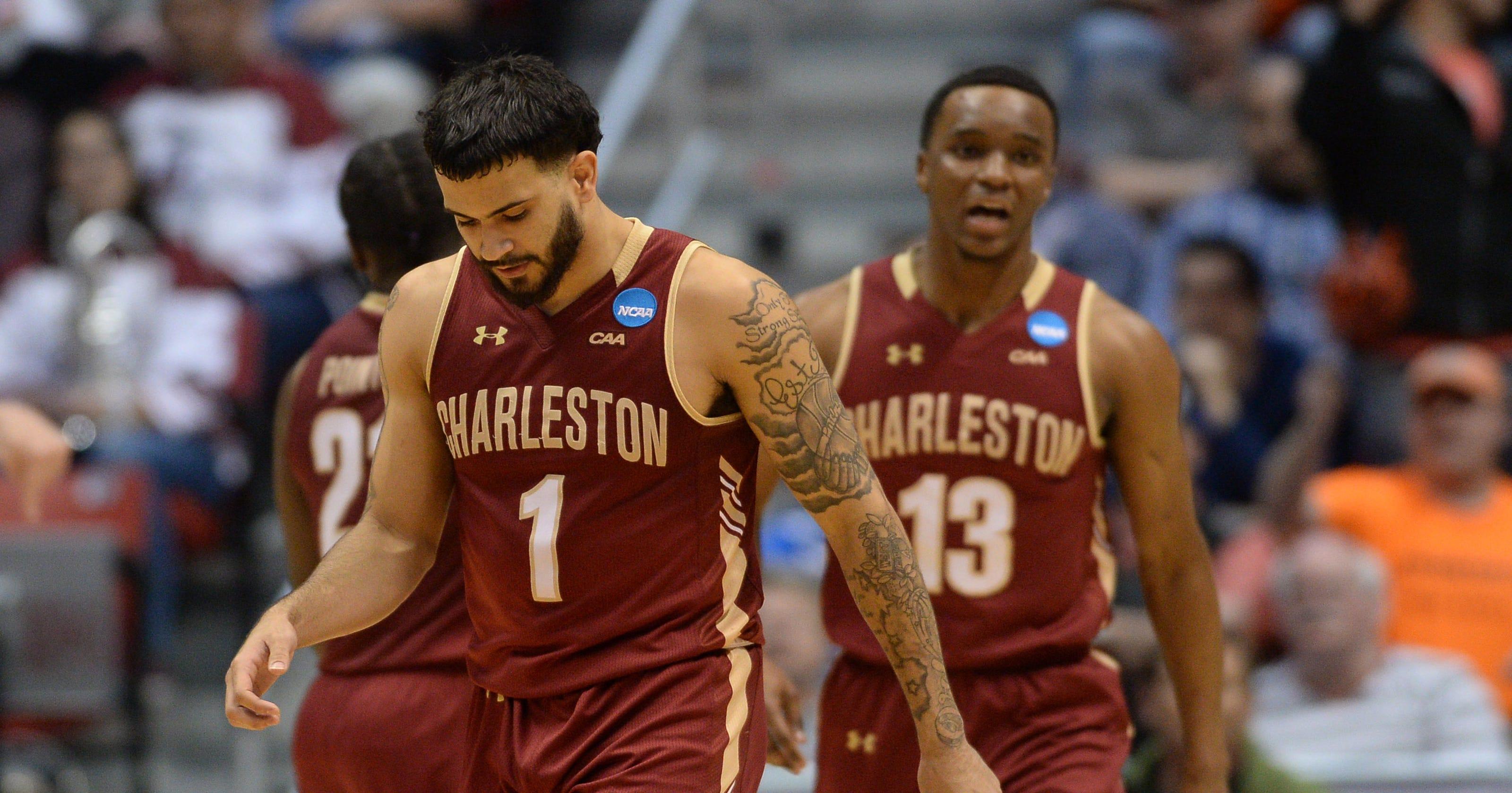reputable site 4aa81 42dff 2018 NCAA tournament: Did no-call rob Charleston of historic ...