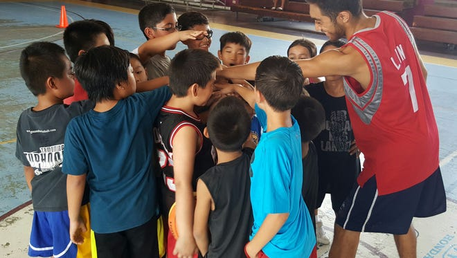 The ACAS Summer Break Youth Basketball Camp at Tamuning Gym runs June 6 to Aug. 5.