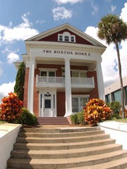 Many people believe the old Boston House on Indian River Drive in Fort Pierce is haunted.