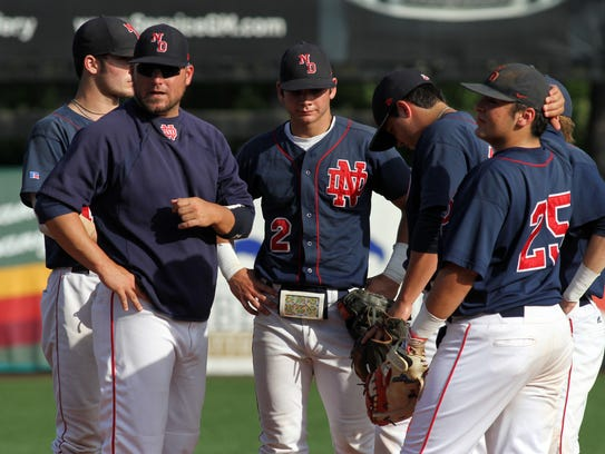 North Vermilion plays Notre Dame in a high school baseball