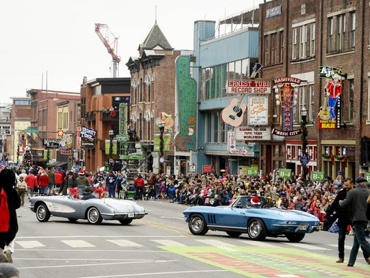 The 65th annual Piedmont Natural Gas Nashville Christmas Parade is scheduled for Dec. 1.