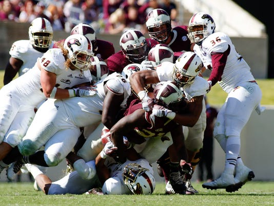 NCAA Football: UL Monroe at Texas A&M