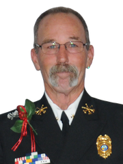 BCFR District Chief Michael Lawrence.