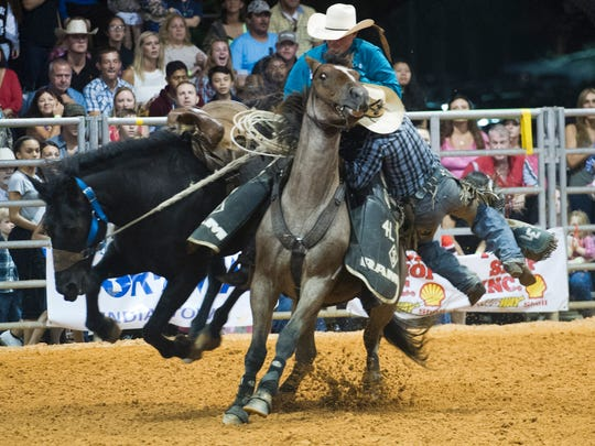 The Indiantown Rodeo starts at 7:30 p.m. Friday and Saturday at Timer Powers Park, 14100 S.W. Citrus Blvd. Gates open at 5 p.m.