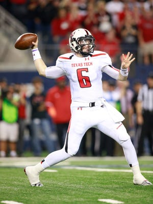 Baker Mayfield looks to get Texas Tech back on track when the Red Raiders take on Texas.