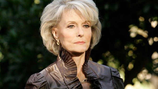Constance Towers as the vengeful Helena Cassadine in 'General Hospital'