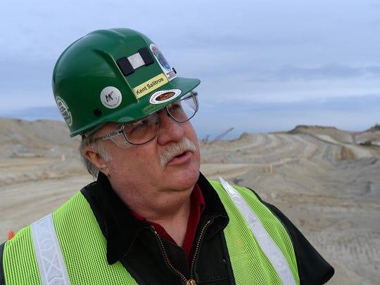 Ken Salitros, general manager of the Rosebud Coal Mine,
