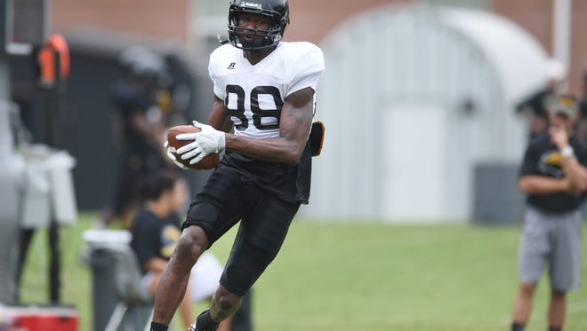 Southern Miss wide receiver Isaiah Jones is in his first season with the Golden Eagles.