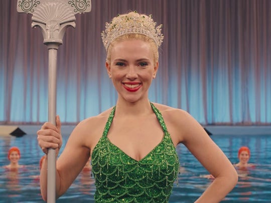 "Scarlett Johansson is among the all-star cast in the comedy ""Hail, Caesar."""
