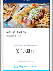 Wolfe new app makes getting a table a snap for Fish table app