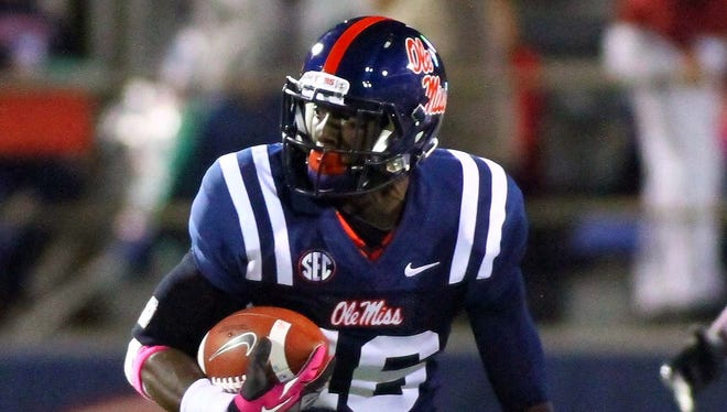 Fifth-year senior Collins Moore intends to transfer to Alcorn State.