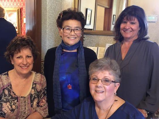 DKG Theta Omicron Luncheon welcomed  Jeanne Hori-Garcia,