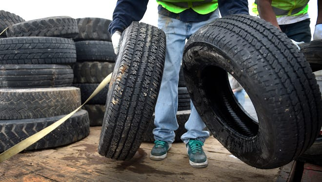 Greene Township is accepting tires from township residents on Friday and Saturday.