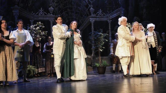 "Geneva Light Opera presents ""The Marriage of Figaro"" in 2019."