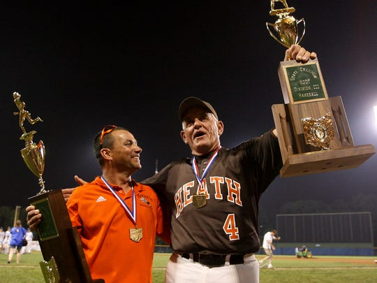 Dave Purpura was at Cooper Stadium in 2007 when Heath beat Elmwood to complete a state championship day for the Heath boys track and baseball programs.