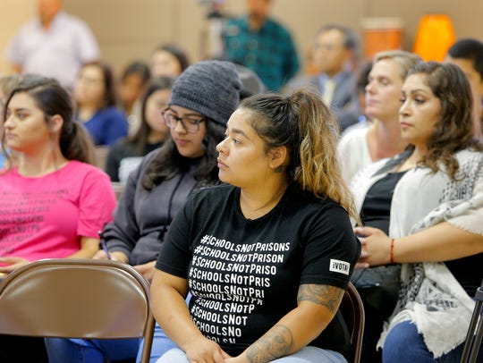 Maria Vera and others opposed to having school resource